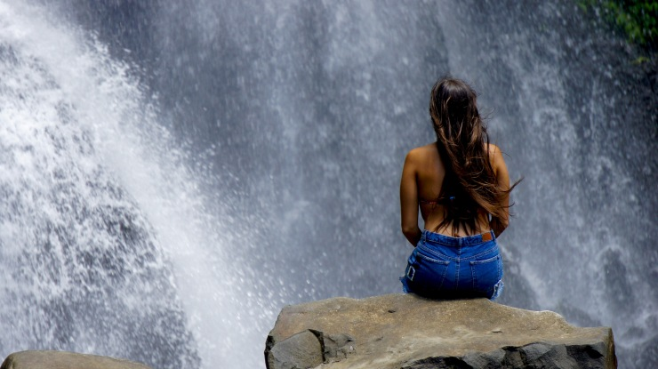 Git-Git Waterfall, Bali